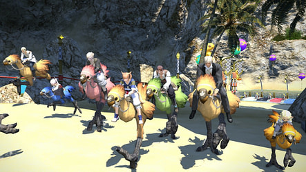 Chocobo Racing: Training